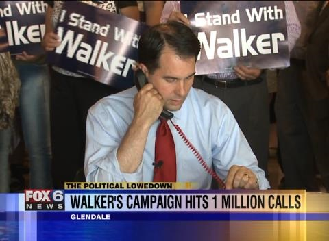 News video: Wisconsin Gov. Picks Up The Phone, Makes One-Millionth Call