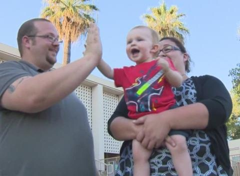 News video: California Dispatcher Responds to 911 Call for Her Son