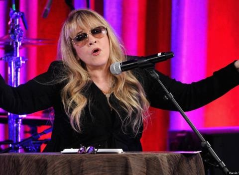 News video: Stevie Nicks Joining 'The Voice' As Adviser