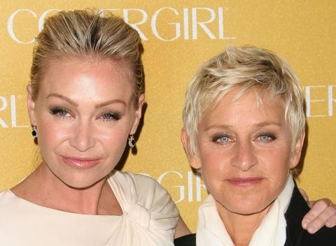 News video: Ellen and Portia 'Working Out' Marriage and Rehab Troubles